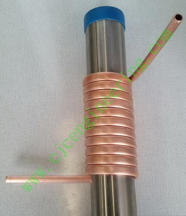 Heat-Exchanger Copper tube coil